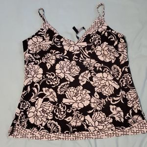 WHBM Sz XXS Reversible camisole top